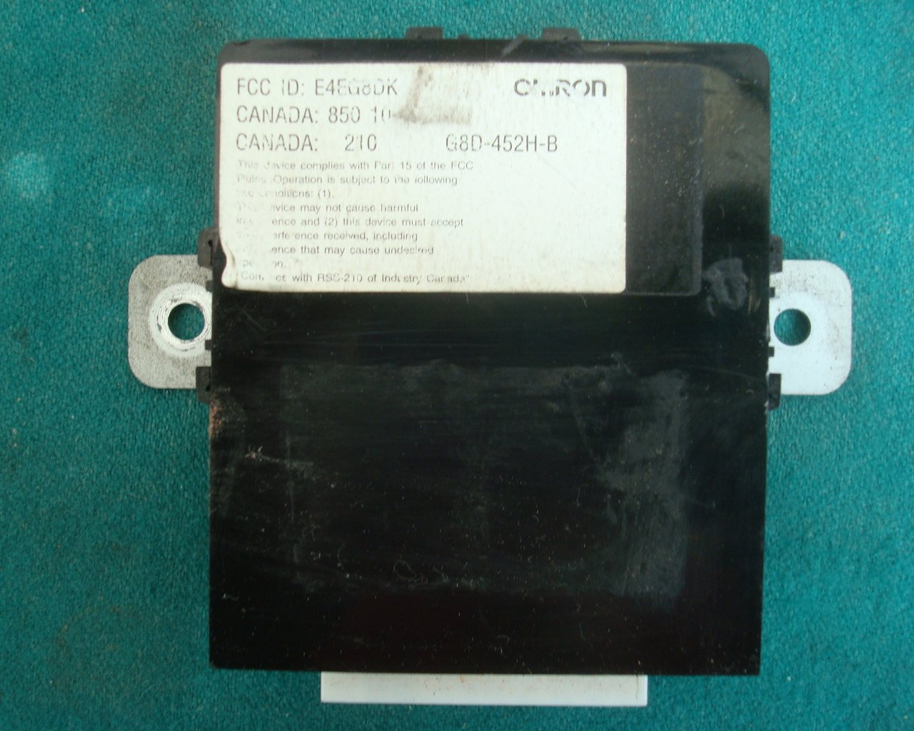 01-10 (not '05) CONTROL UNIT, TRUNK   38380-MCA-A41 GL1800