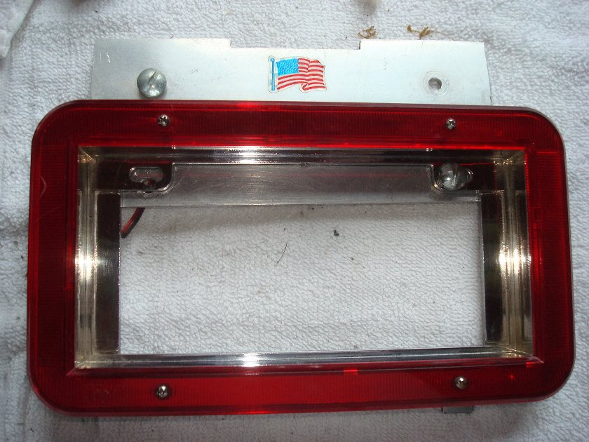 1500C or CT all  rear license plate holder LED surround