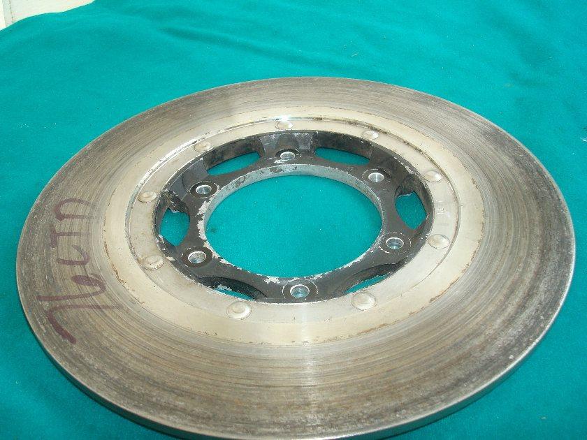 GL1000 75 to 77 Rear brake rotor: near factory thickness.