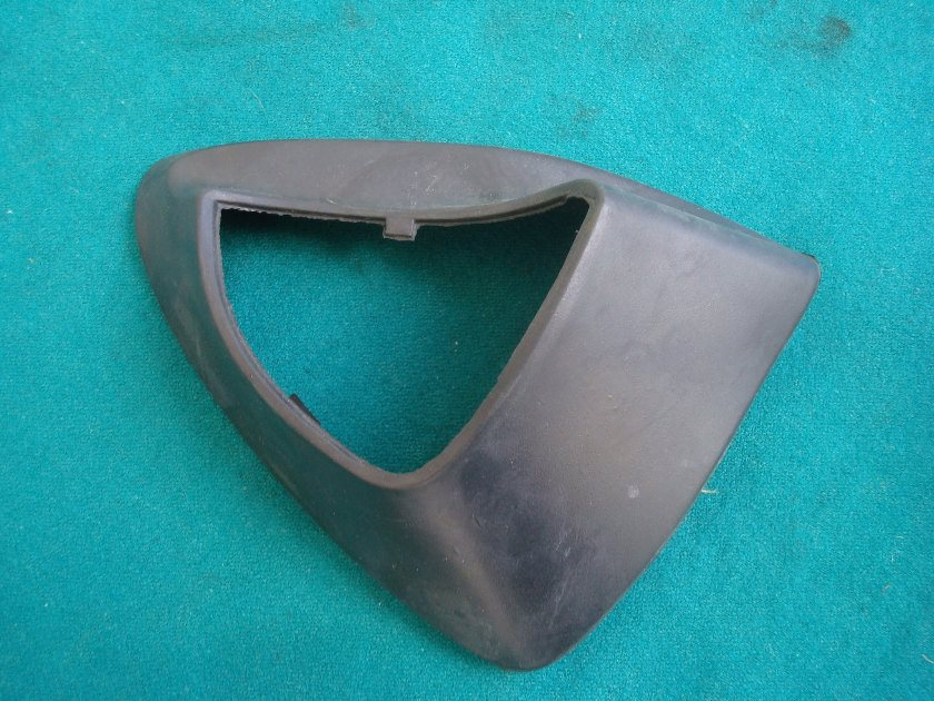 01 to 10 mirror rubber, left hand GL1800