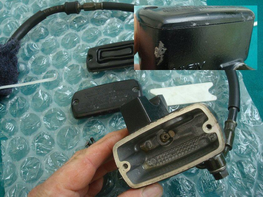 01-10 Front brake master cylinder assembly GL1800