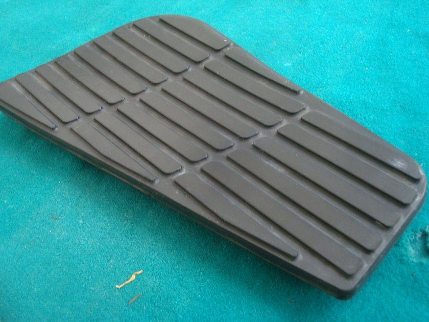 01-10 Right hand passener board RUBBER GL1800