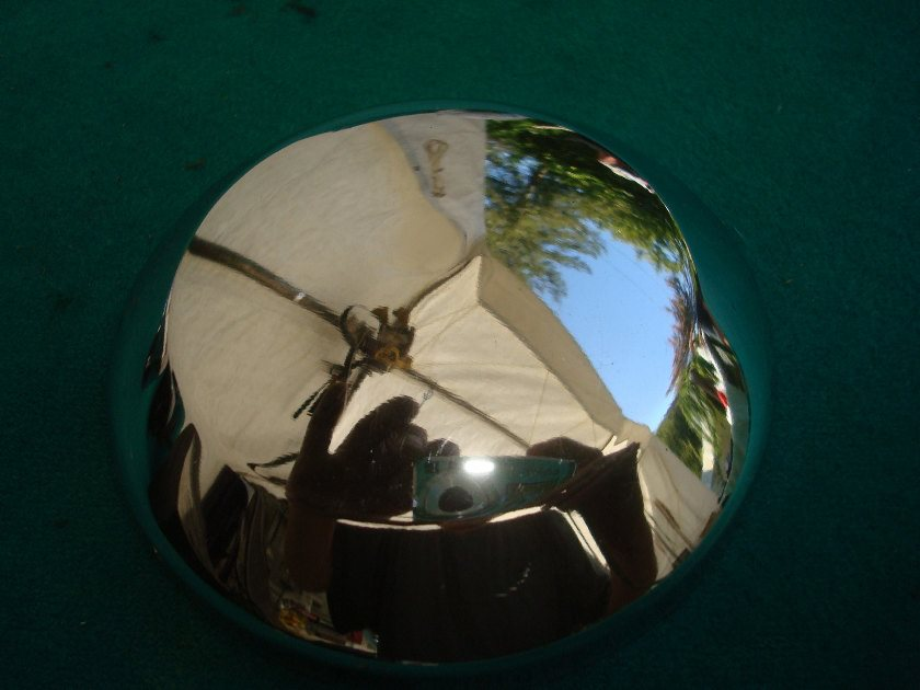 GL10 or 11 or 1200 75 to 84 Chrome dome for horn