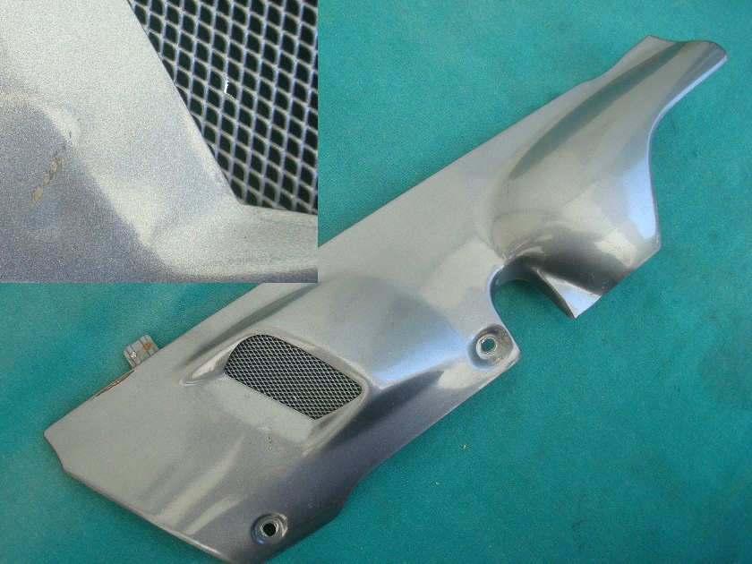 88 - 89 Rear exhaust protector  LEFT HAND GL1500