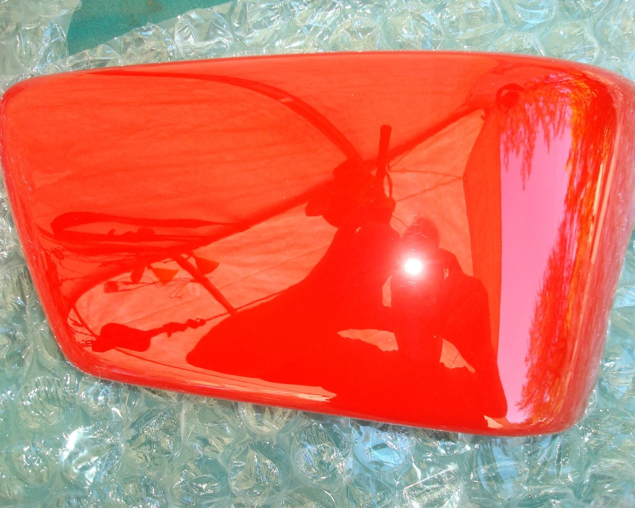 Valkyrie 97 Side COVER, Right R191 AMERICAN RED 83500-MZ0-000ZD