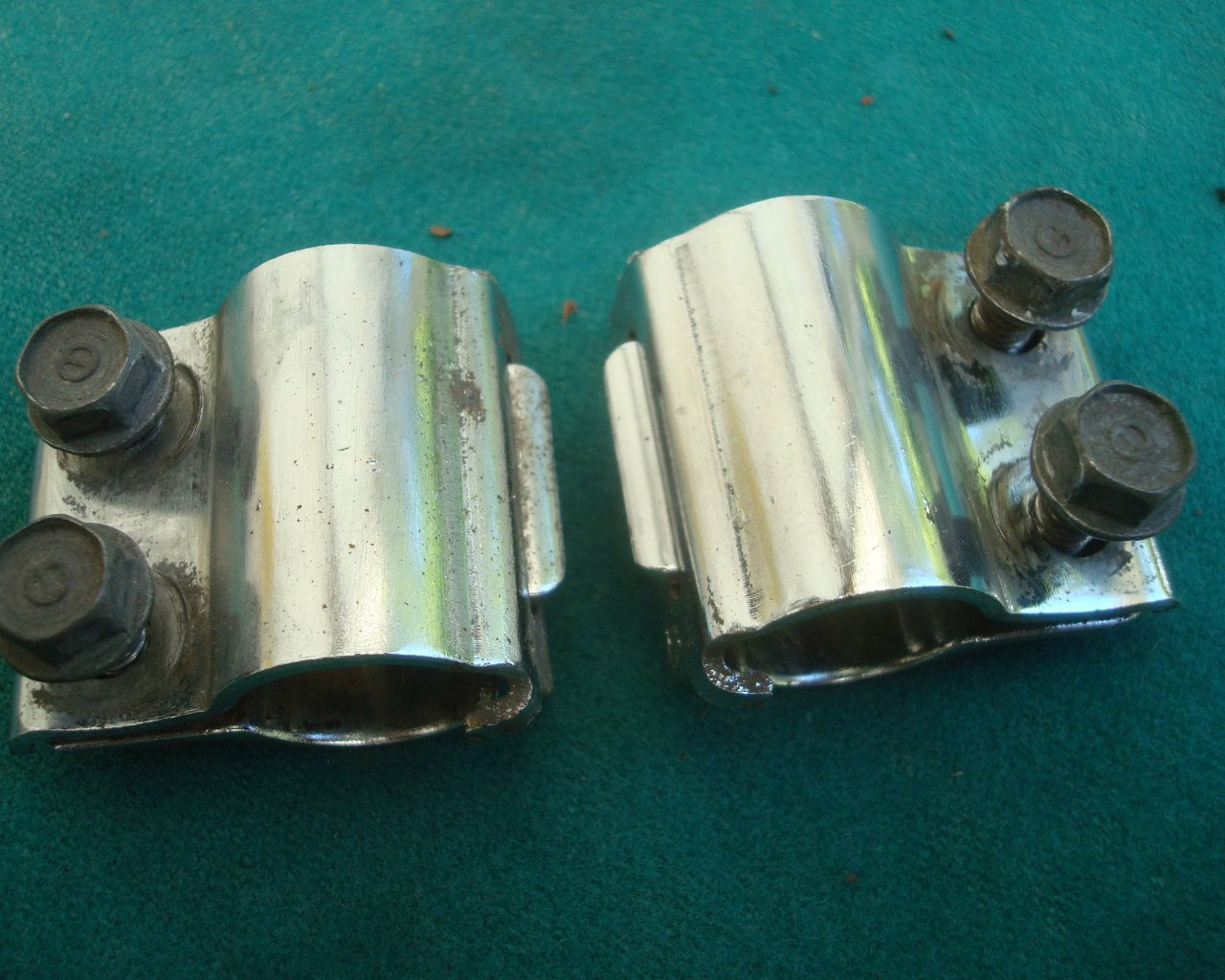 GL1100 1200 80 to 87 SW Pipe Clamps saddlebag mount joiners