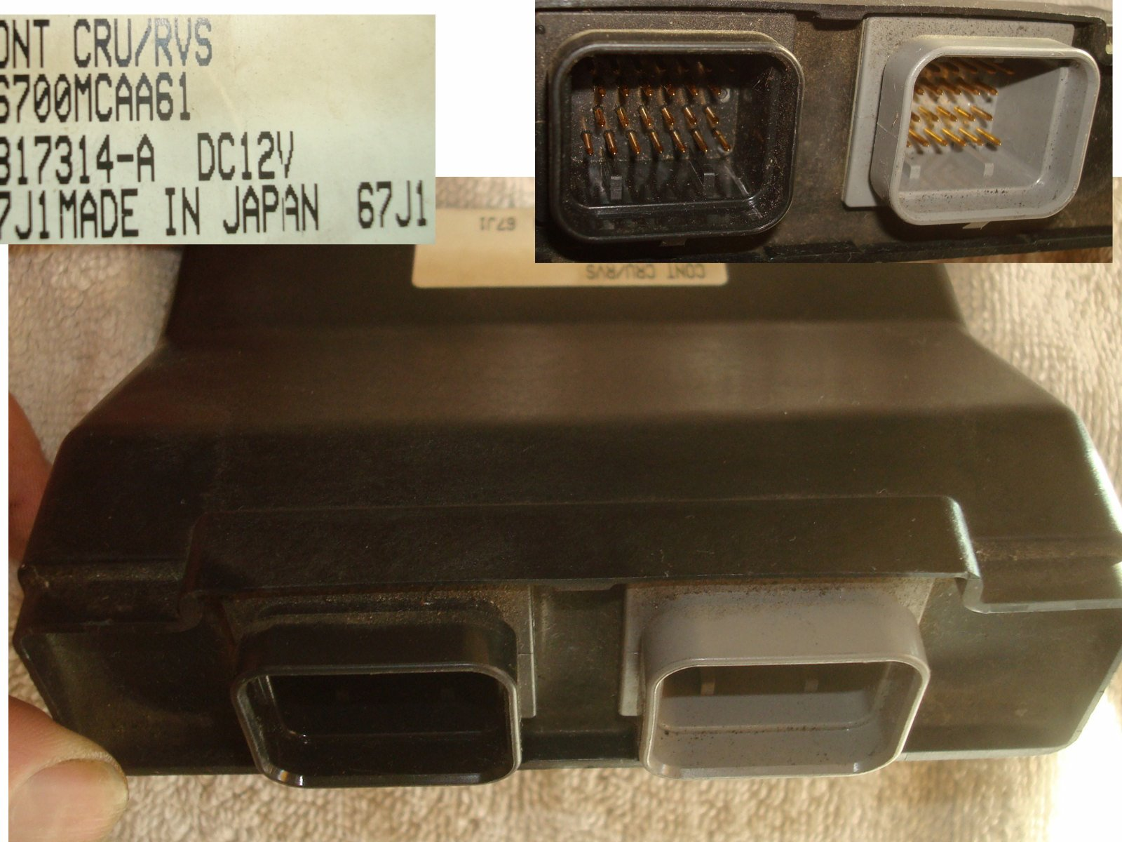 01 to 10 CONTROLLER, AUTO CRUISE 36700-MCA- GL1800