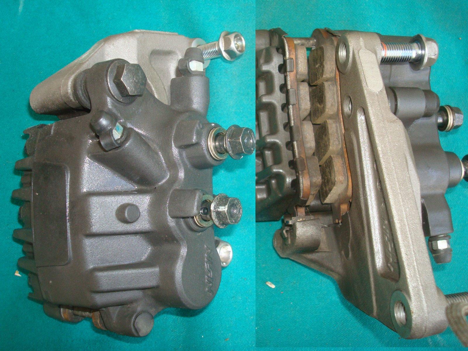 Rear brake caliper assembly, w/pads GL1800