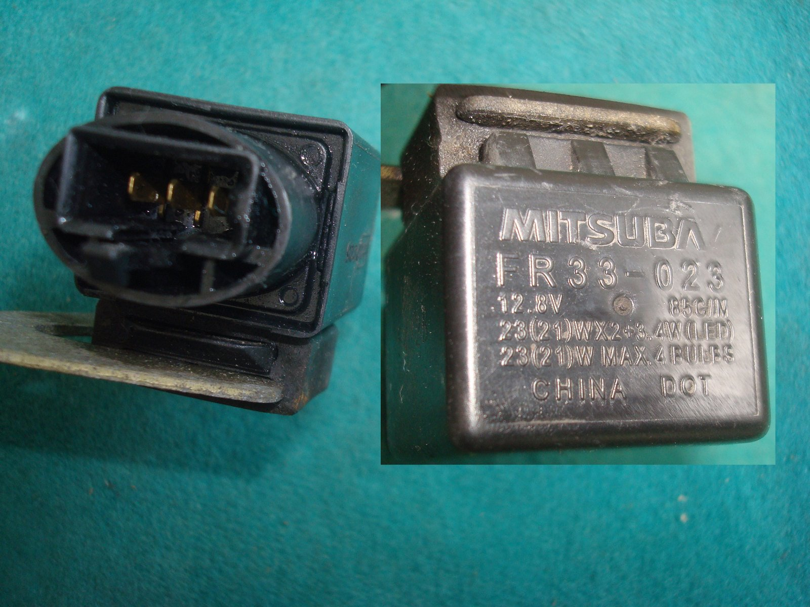 01 to 17 Turn signal relay F6B and GL1800A