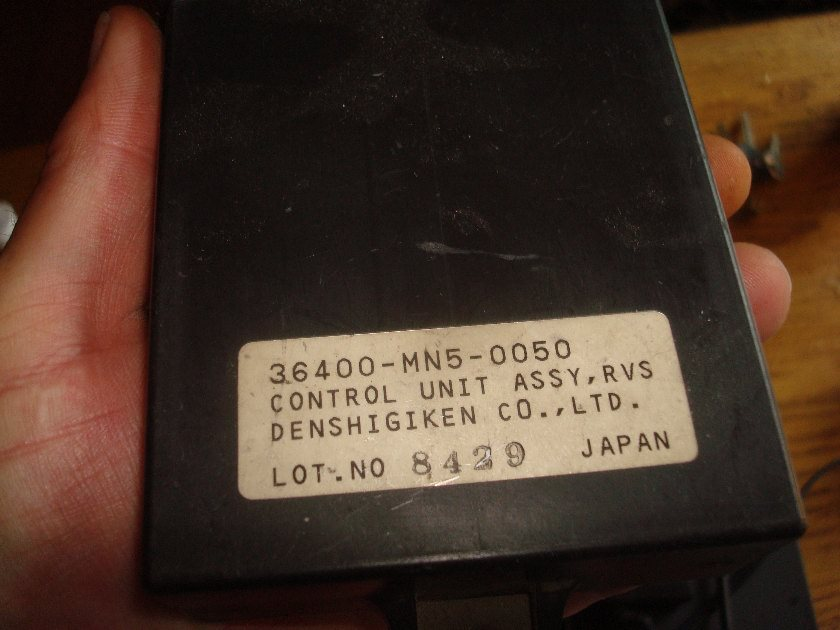 88 89 90 91  Control unit 36400-MN5-005 (0) GL1500